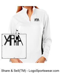 Yaphia Ladies Moisture Wicking Pullover Design Zoom