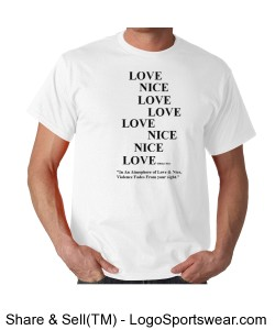 Yaphia Love-Nice T-shirt Gildan Adult T-shirt Design Zoom