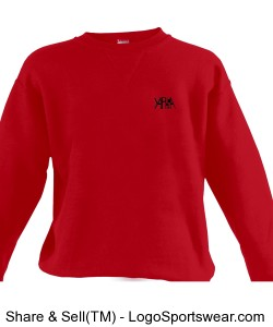 Yaphia Russell Youth Crewneck Sweatshirt Design Zoom